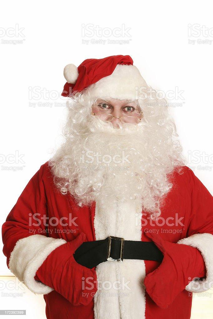 Santa! royalty-free stock photo