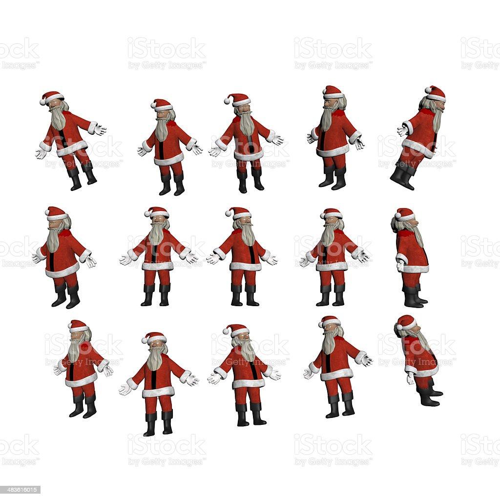 Santa stock photo