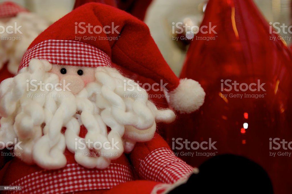 Santa Puppet stock photo