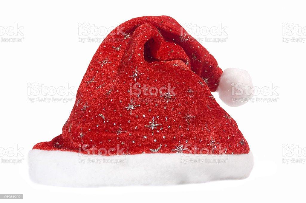 산따 red hat royalty-free 스톡 사진