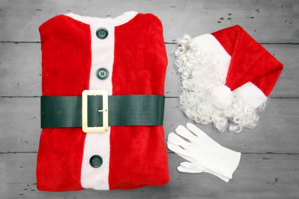 santa-anzug - nikolaus kostüm stock-fotos und bilder