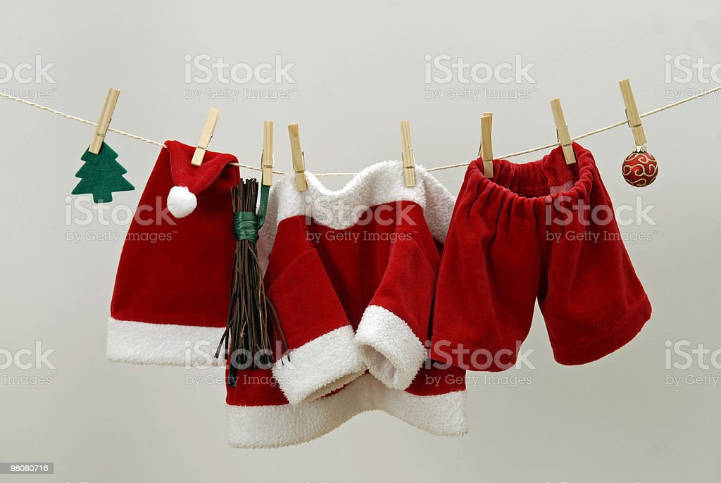 Santa Suit royalty-free stock photo
