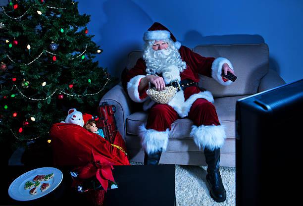 Santa ist eine Pause – Foto