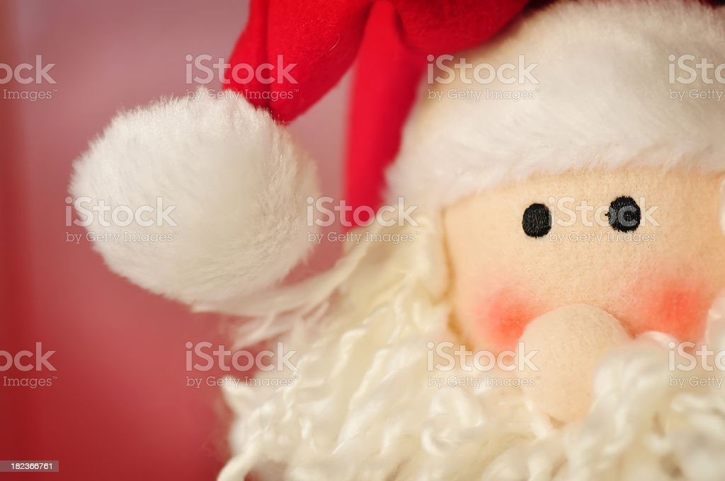 Santa up close royalty-free stock photo