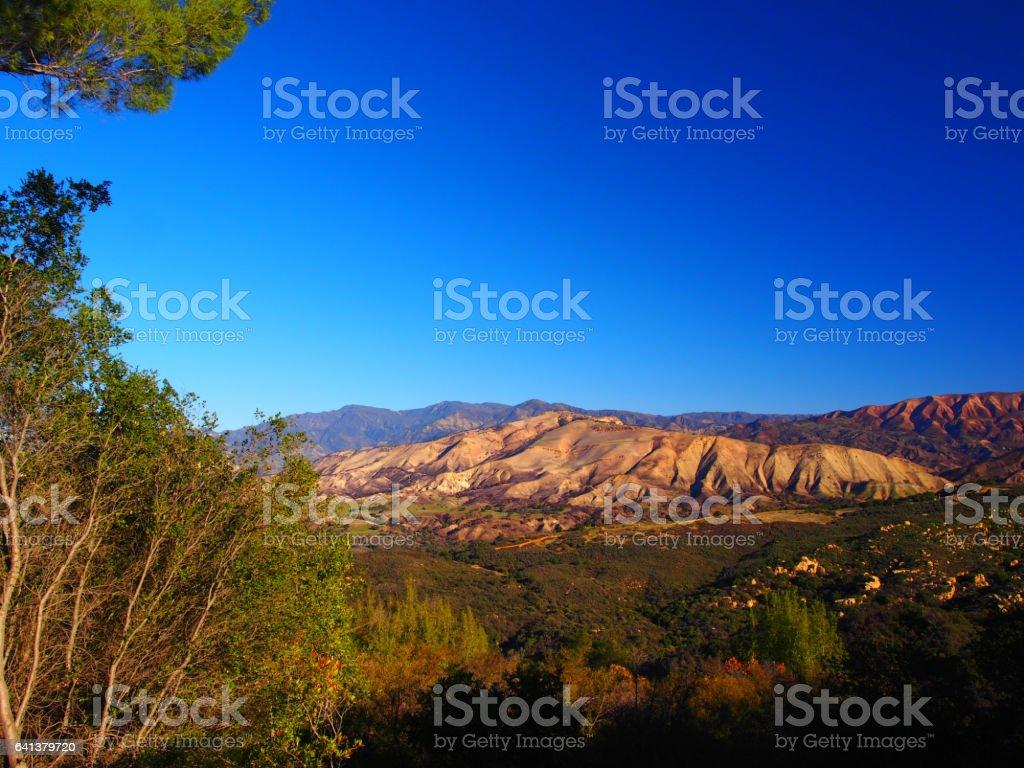 Santa Ynez Range stock photo