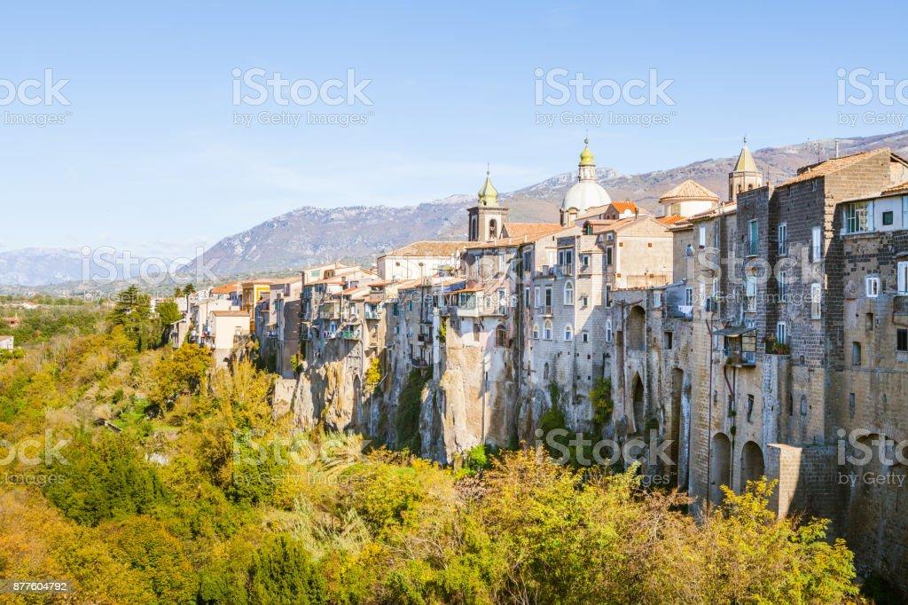 Sant'Agata dei Goti, Campania - foto stock