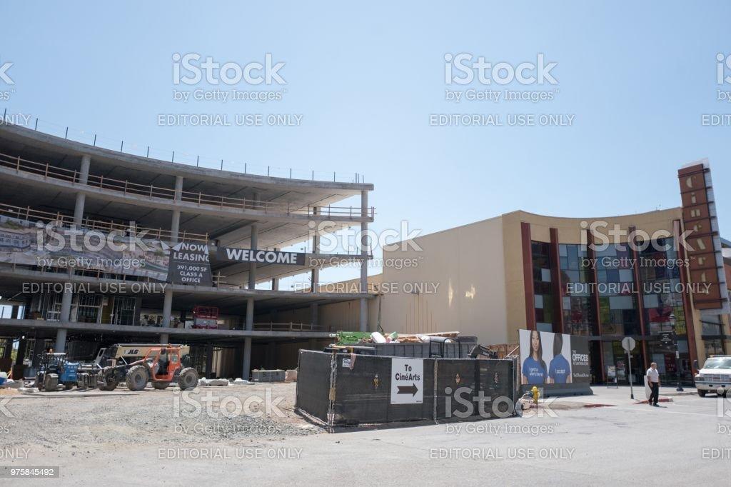 700 Santana Row - Lizenzfrei Architektur Stock-Foto