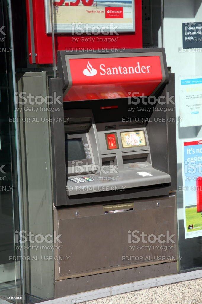 Banco Santander equipo de OTC - foto de stock