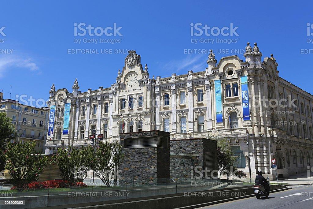 Santander - foto de stock