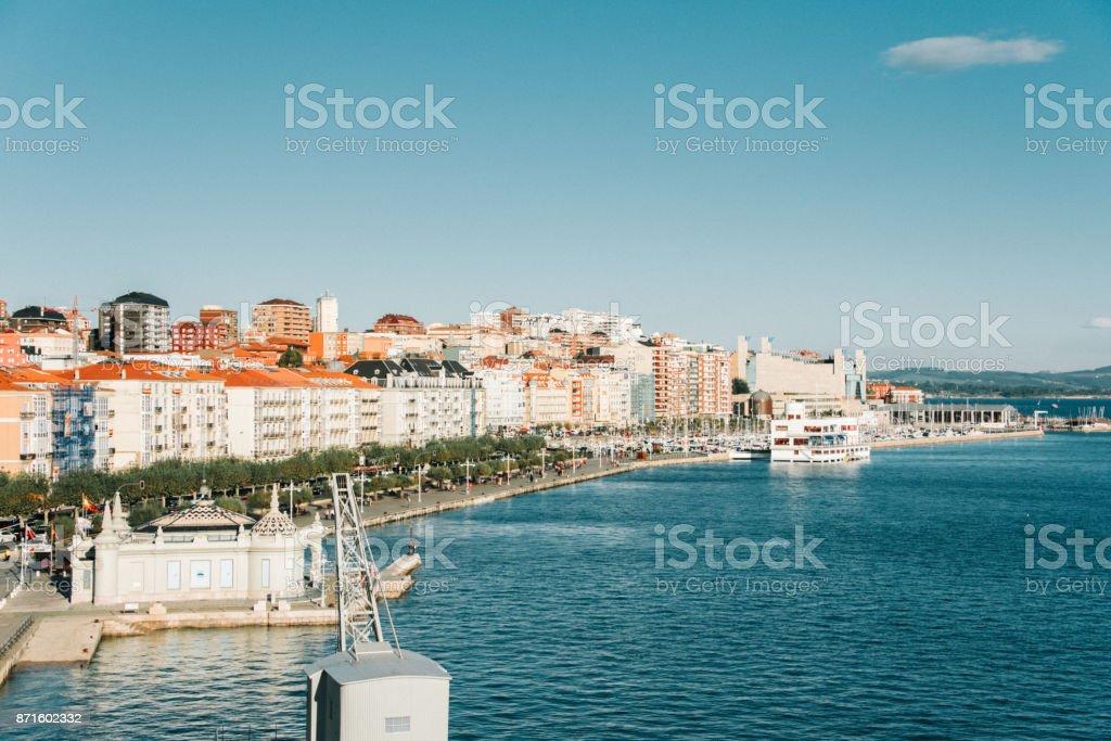 Santander, Spain stock photo