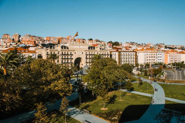 Santander, Spain The city centre of Santander, Spain. santander spain stock pictures, royalty-free photos & images