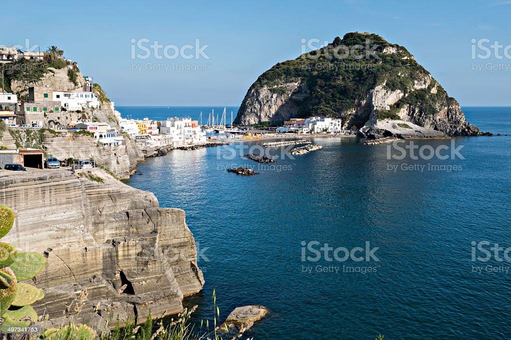 Sant'Angelo  at Ischia Island stock photo