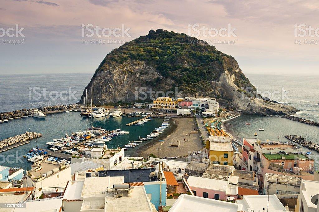 Sant'Angelo d'Ischia stock photo