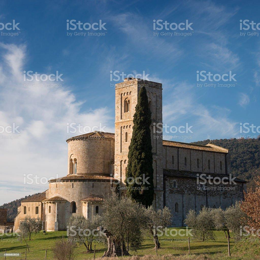 Sant'Antimo stock photo