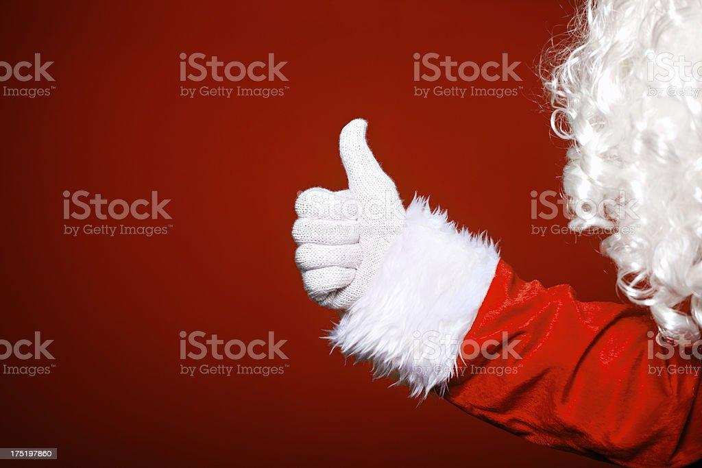 Santa's approved royalty-free stock photo