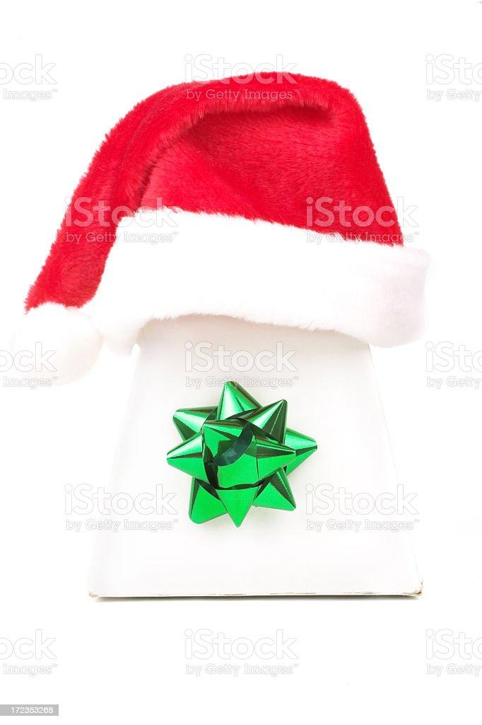 Santa's gift royalty-free stock photo