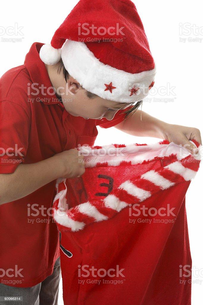 Santa's Gifts royalty-free stock photo