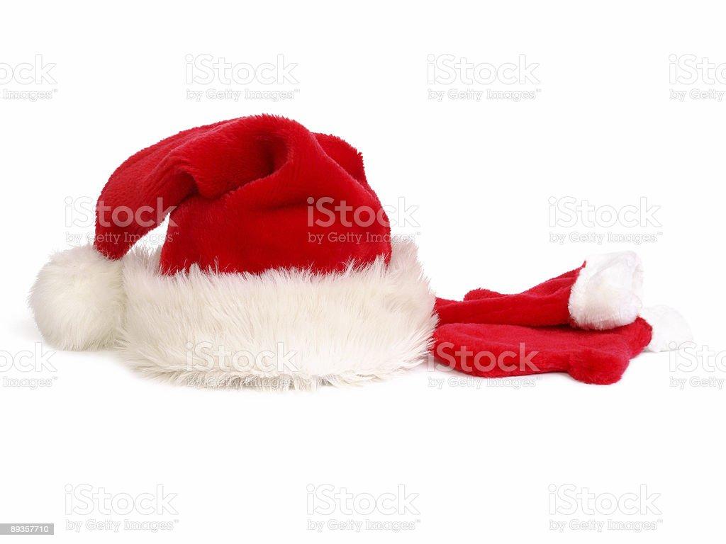 Natale cappello e guanti foto stock royalty-free