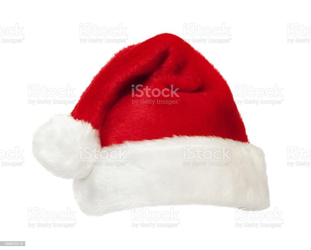 Santa's hat stock photo