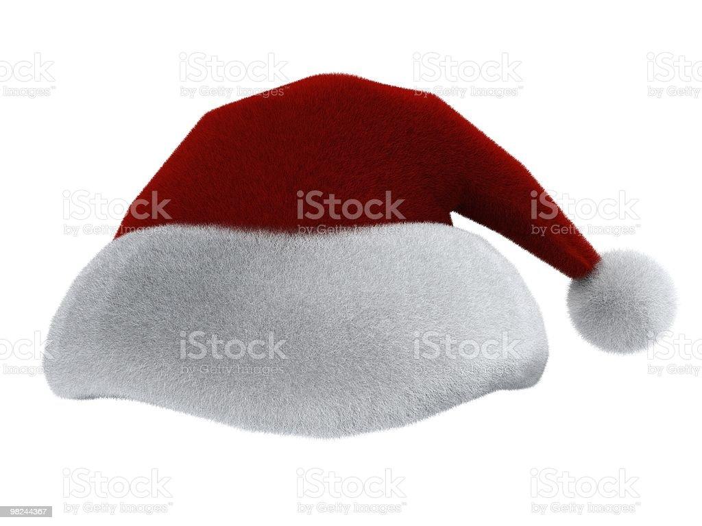 Cappello di Babbo Natale foto stock royalty-free