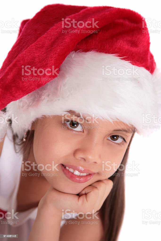 Santa's Helper stock photo