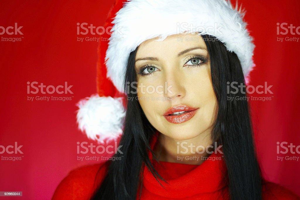 Santas Woman 2 royalty-free stock photo