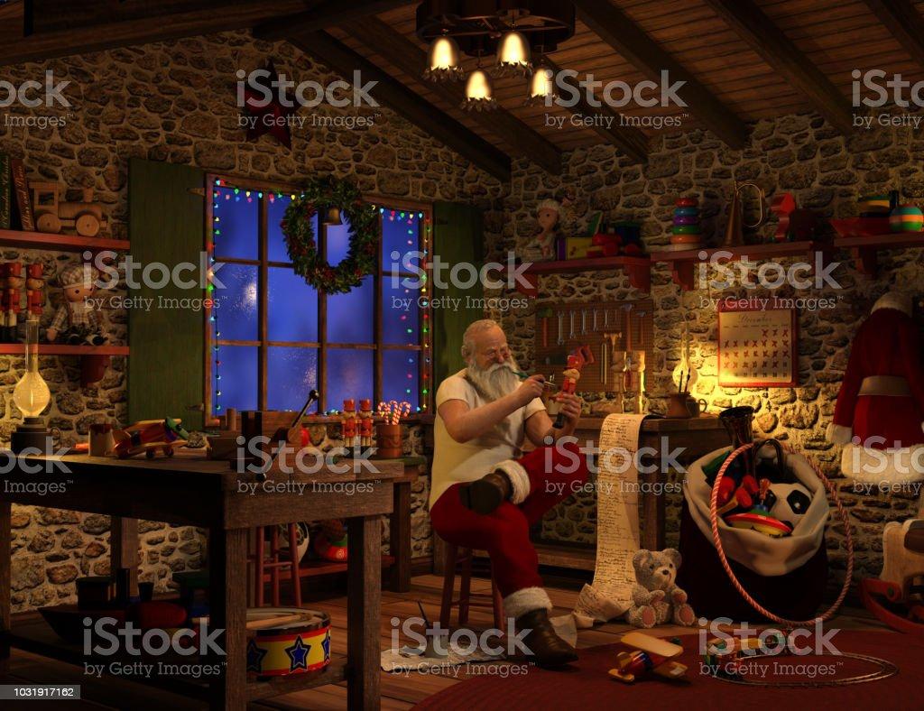 Atelier du Père Noël - Photo