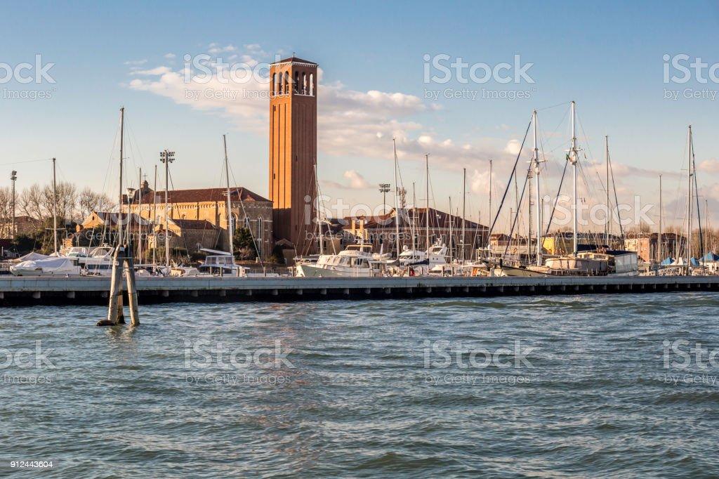 Sant`Elena, Venice stock photo