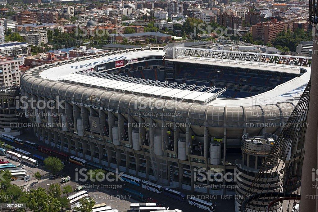 Santiago Bernabéu Stadium stock photo