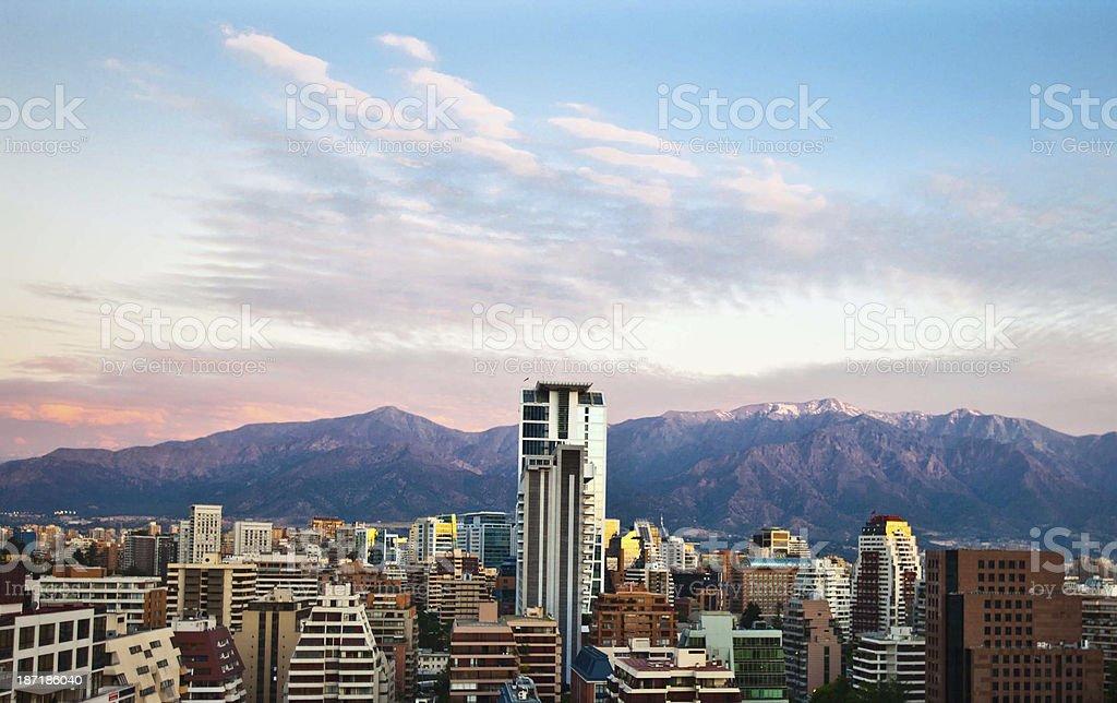 Santiago, Chile stock photo