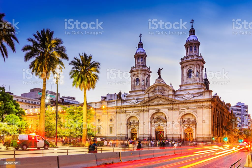 Santiago de Chile, Chile stock photo