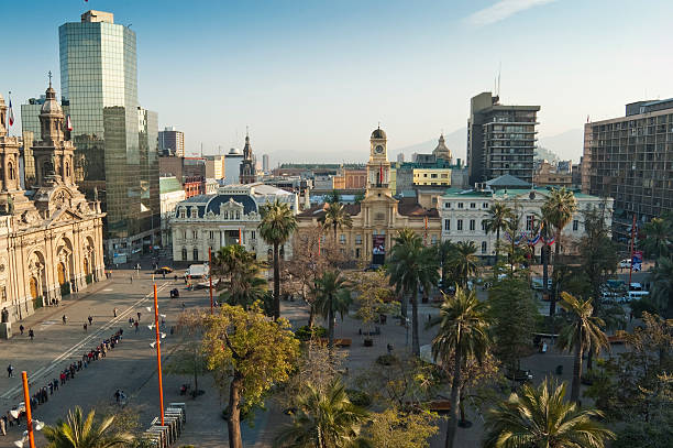 Santiago de Chile View of Plaza de Armas (Santiago de Chile, Chile) chile stock pictures, royalty-free photos & images