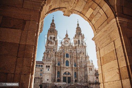 istock Santiago de Compostela Cathedral 1176669865
