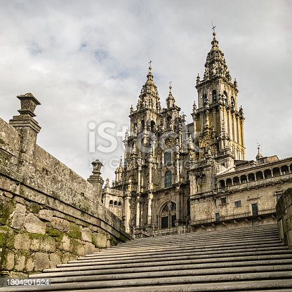 istock Santiago de Compostela Cathedral. 1304201524