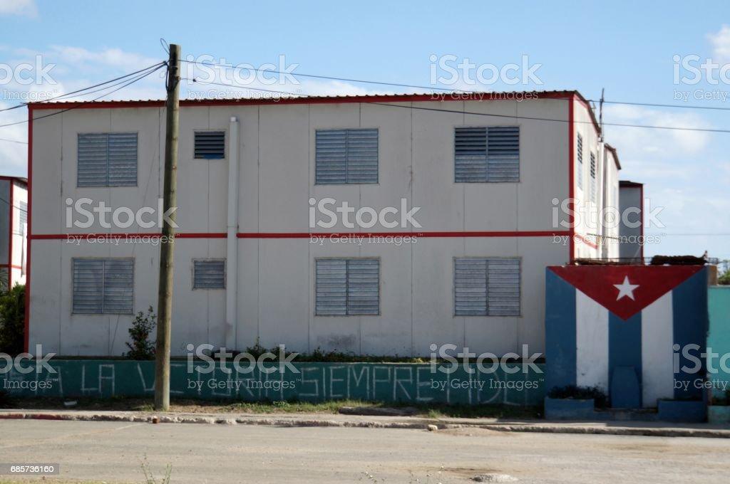Santiago De Cuba Street view Lizenzfreies stock-foto