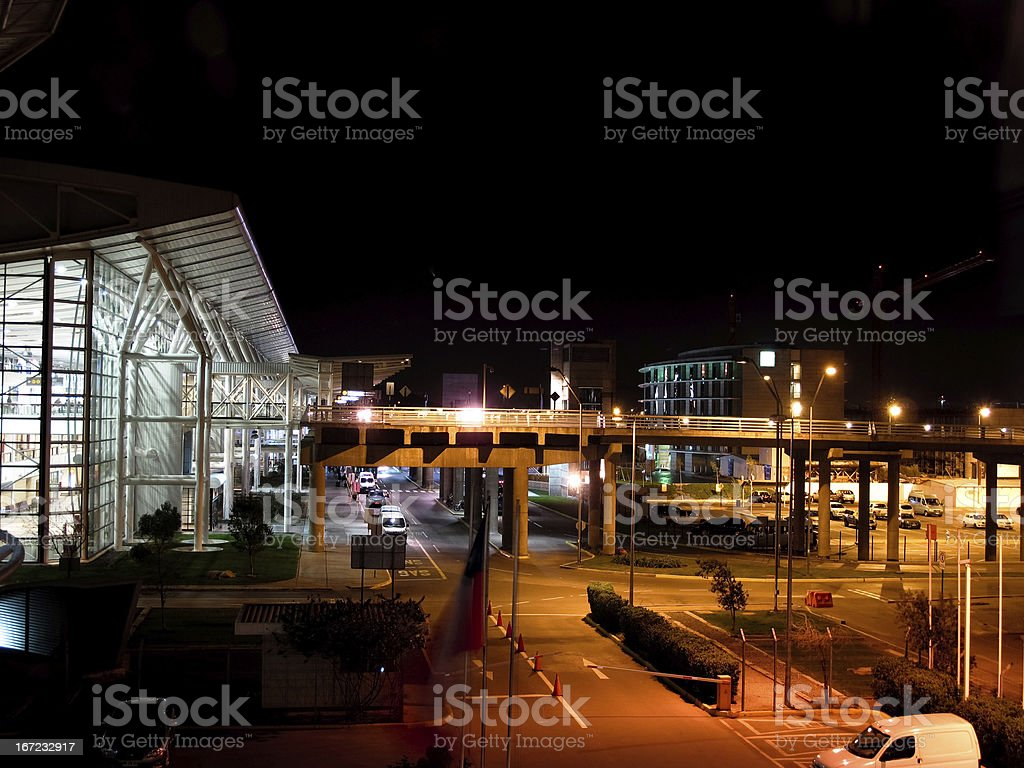 Santiago International Airport, Chile stock photo