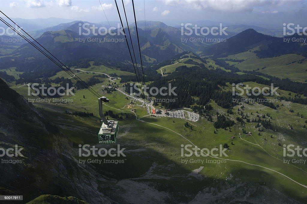 Santis in Switzerland royalty-free stock photo