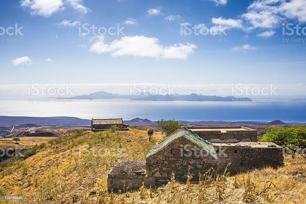 Santo Antão, Cape Verde stock photo