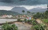 Santo Antonio, capital of Principe Island, Sao Tome and Principe, Africa