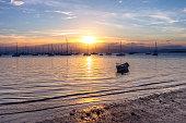 santo antonio de lisboa beach sunset