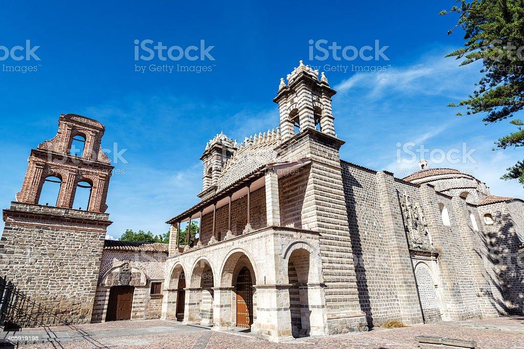 Santo Domingo Church in Ayacucho, Peru stock photo