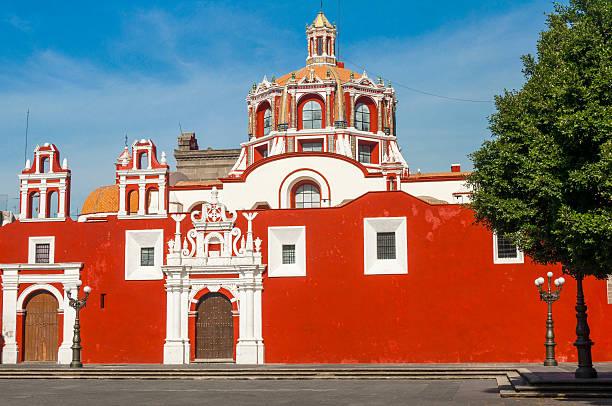 Santo Domingo church, Puebla (Mexico) Santo Domingo church, Puebla (Mexico) puebla state stock pictures, royalty-free photos & images