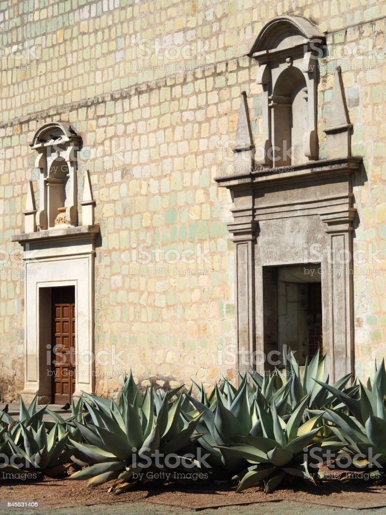Santo Domingo de Guzman in Oaxaca, Mexico stock photo