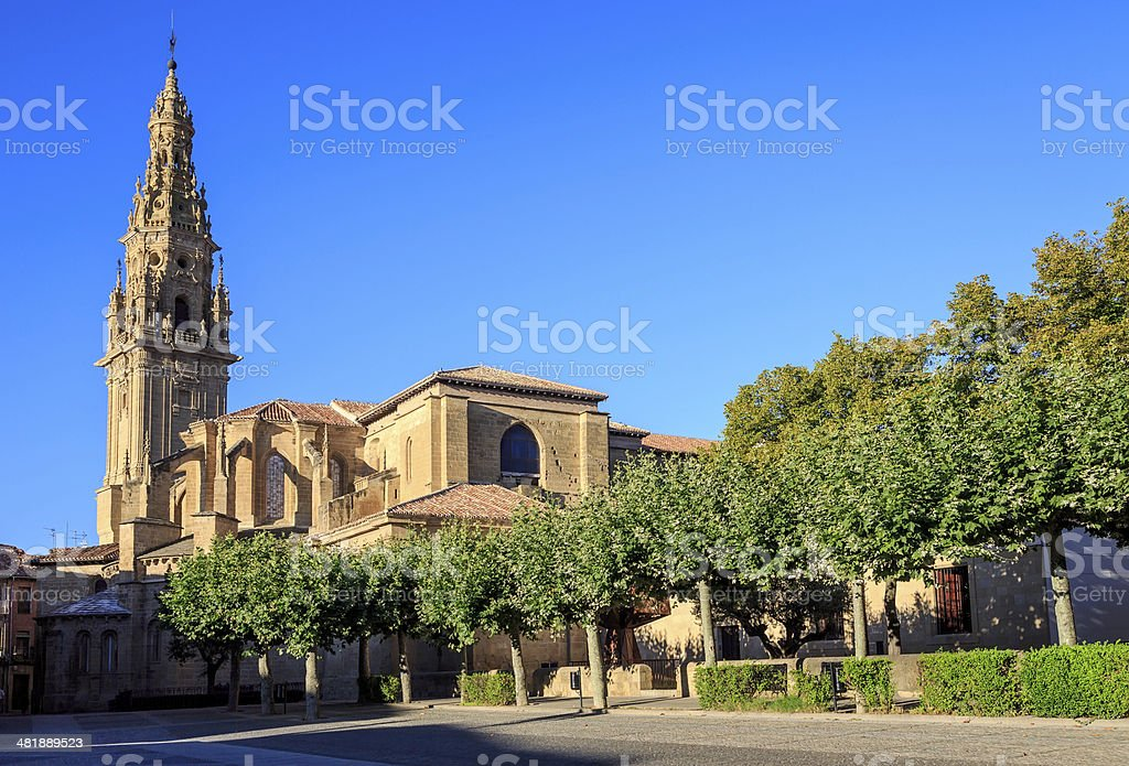 santo domingo de la calzada in rioja, Spain royalty-free stock photo