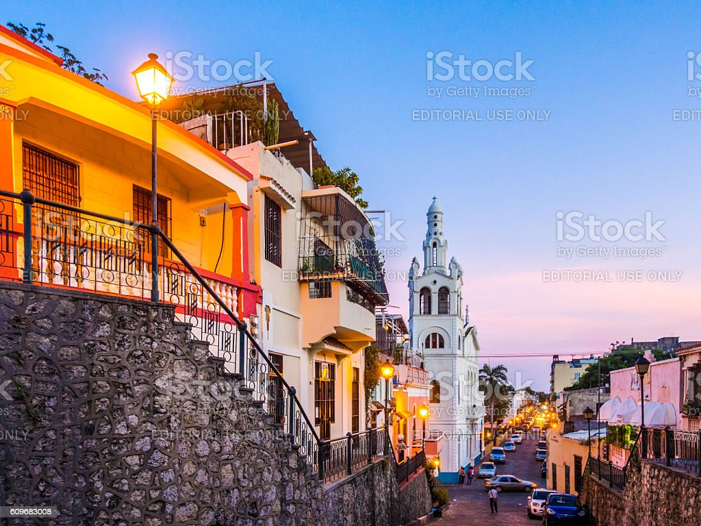 Santo Domingo, Dominican Republic stock photo