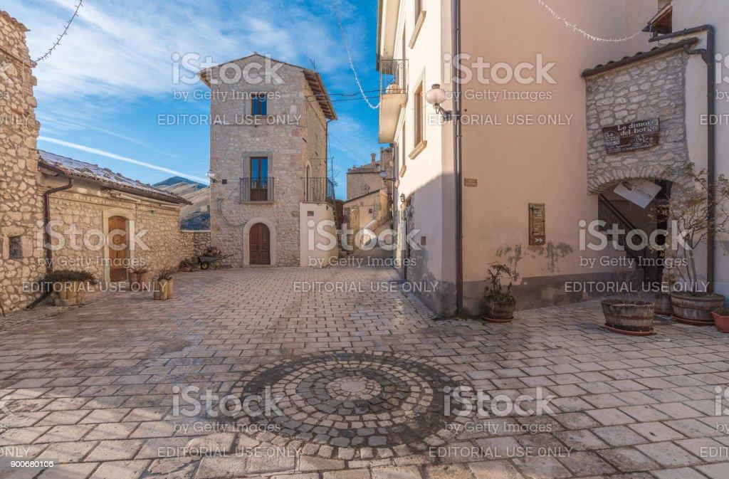 Santo Stefano di Sessanio (Abruzzo, Italy) stock photo