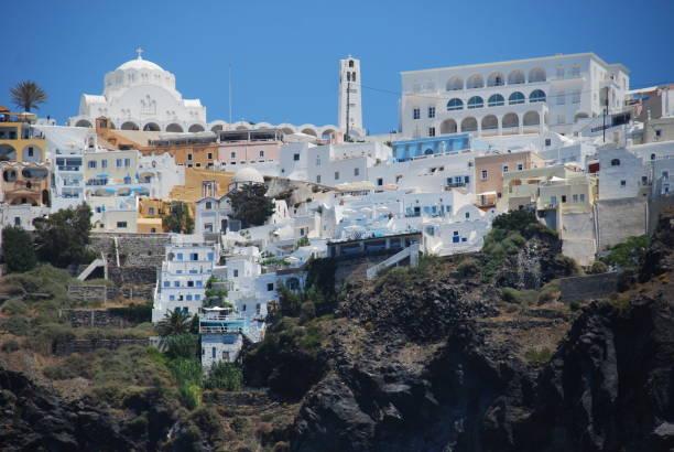 Arquitectura de Santorini - foto de stock