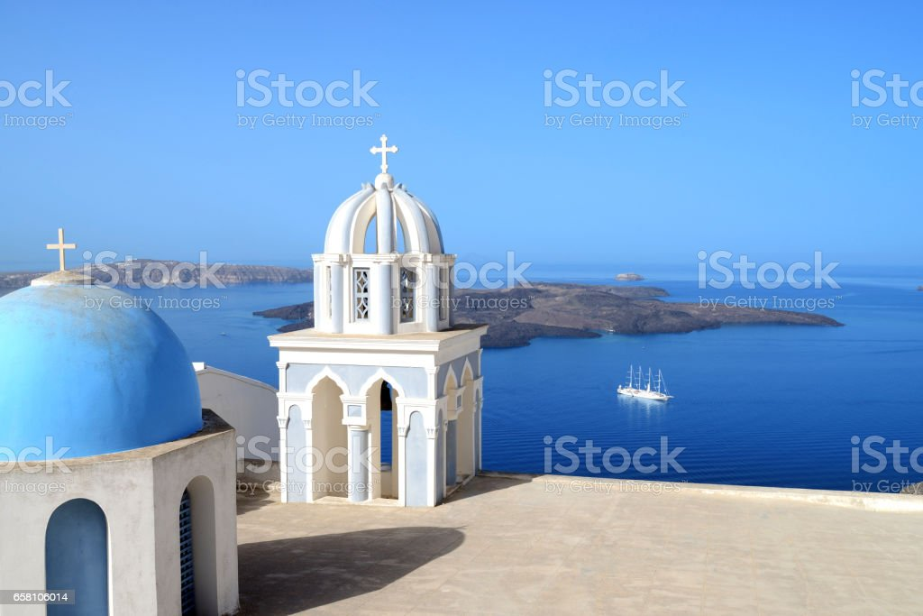 Santorini - Fira royalty-free stock photo