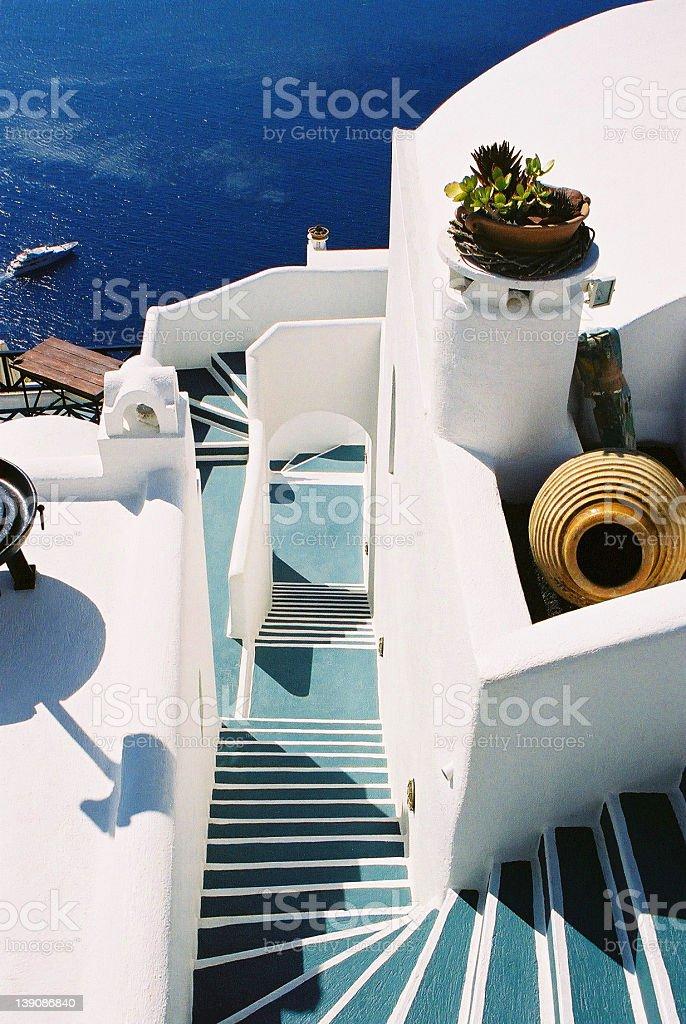 Santorini, Greece royalty-free stock photo