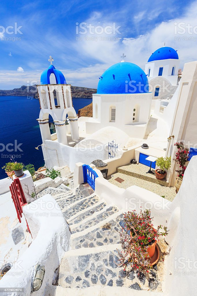 Santorini, Greece stock photo